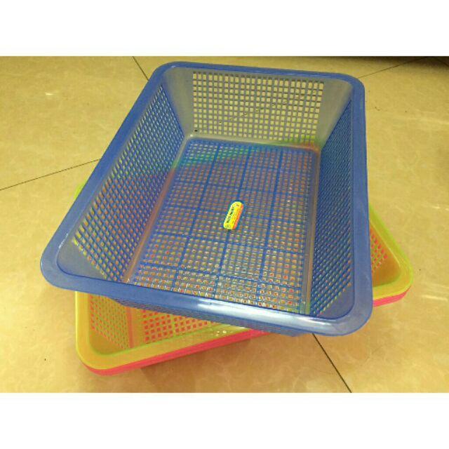 Rổ vuông nhựa - 21683967 , 1773207859 , 322_1773207859 , 10000 , Ro-vuong-nhua-322_1773207859 , shopee.vn , Rổ vuông nhựa