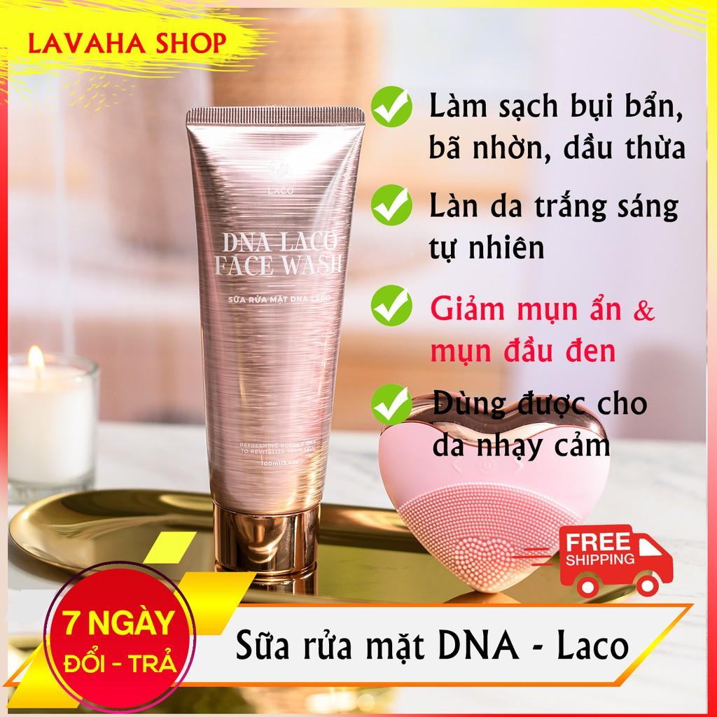 Sữa rửa mặt DNA cá hồi Laco ngăn ngừa mụn, sạch sâu, sáng da, cân bằng độ pH cho da - LAVAHA SHOP
