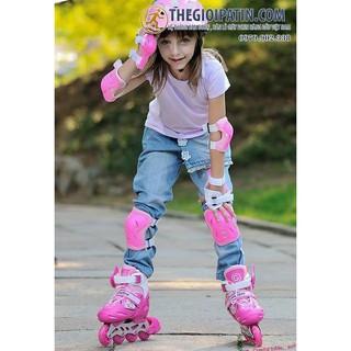 [SIÊU PHẨM]: combo giày trượt patin và đồ bảo hộ cho bé (mua sỉ giá hấp dẫn)