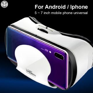 Universal 3D Games Focus Adjustment VR Headset Glasses Head-Mounted Portable Multifunctional
