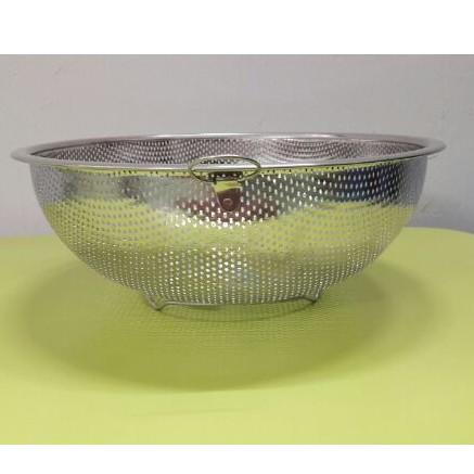 Rổ lưới 27cm ( vo gạo, rửa rau...) inox 430 ( SXVN )