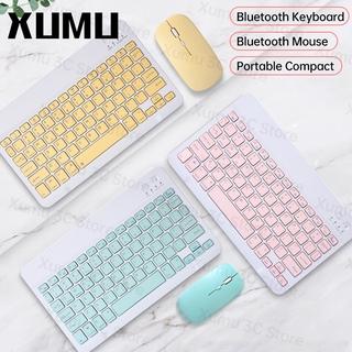 ANDROID Bàn Phím Bluetooth Không Dây Xumu 10.2 Air 4 4th Gen 10.9 Inch 2020 Cho Ipad Pro Laptop Laptop thumbnail