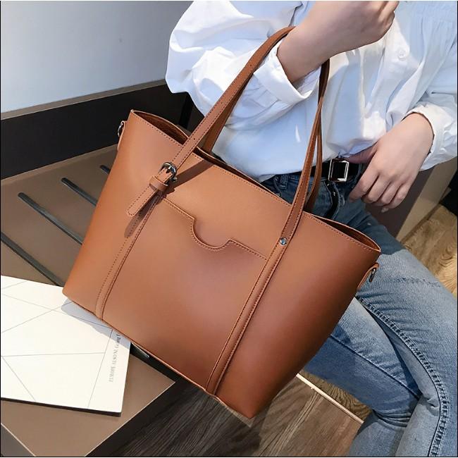 [Sẵn] Túi đeo vai vừa A4, Laptop có dây đeo chéo - P039