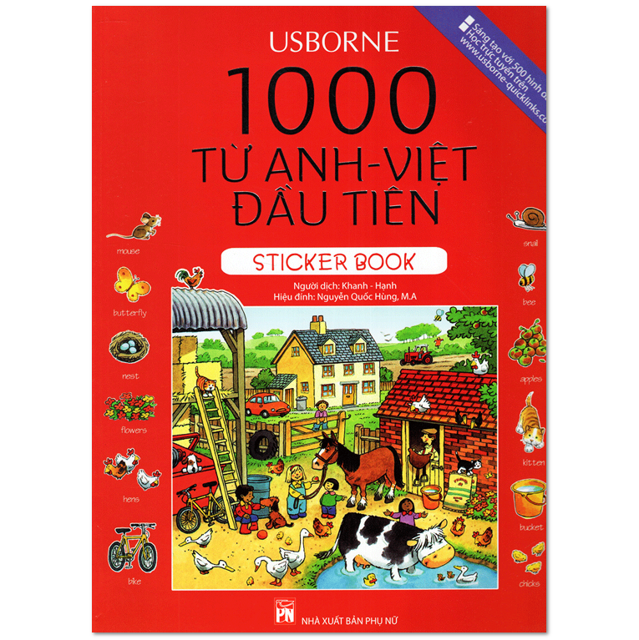 Sách - 1000 Từ Anh - Việt Đầu Tiên