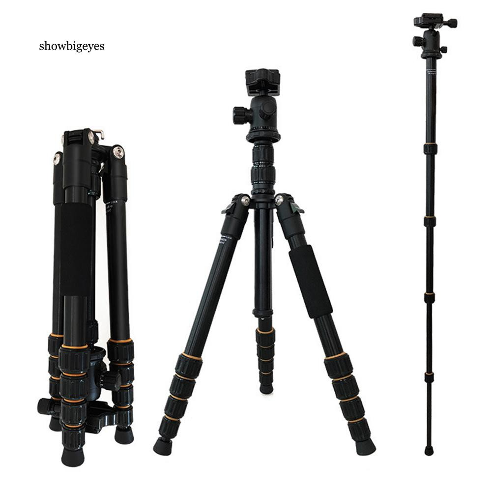 SGE_Q666 Professional SLR/DSLR Camera Tripod Ballhead Stand Holder for Canon Nikon