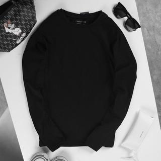 Áo thun dài tay nam giữ nhiệt thu đông đẹp cổ tròn chất cotton co giãn mặc tập gym, đi chơi, đi làm