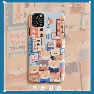 Ốp Điện Thoại Silicon Hình Chó Shiba Đáng Yêu Cho Iphone 11 8 Plus Xr