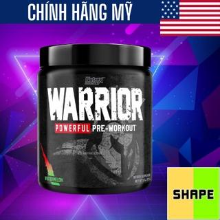 Nutrex Warrior Pre Workout [30 Lần Dùng] Tăng Cường Năng Suất Luyện Tập - Chính Hãng The thumbnail