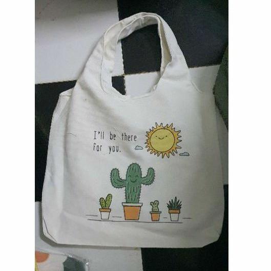 Túi đeo vai đi làm, đi học đẹp giá rẻ (VẢI BỐ CANVAS MỀM - FORM TO - 2 LỚP - QUAI LIỀN) - MẶT TRỜI