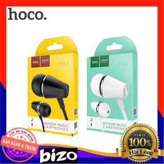 [CAO CẤP] Tai nghe nhét tai có mic Hoco M34 giắc cắm 3,5mm chính hãng bảo hành 12 tháng