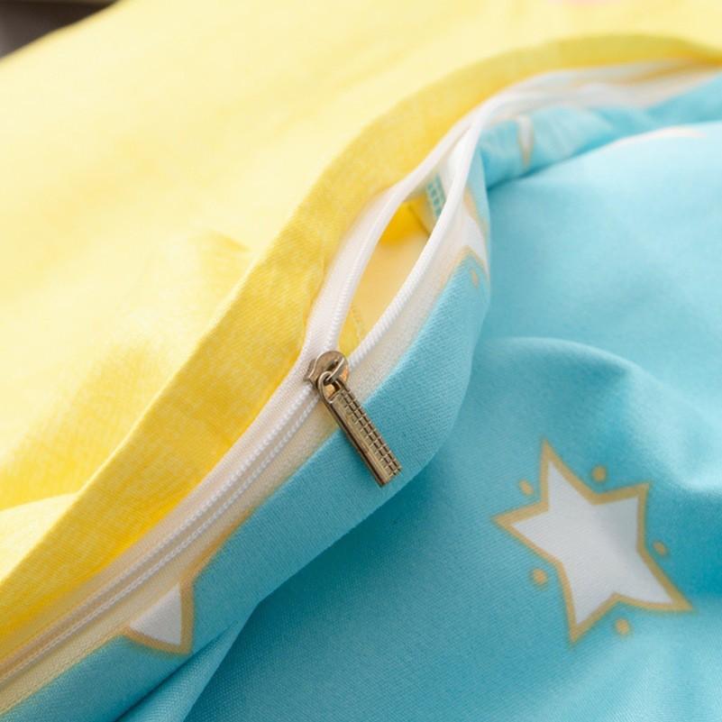 [ẢNH THẬT] Bộ chăn ga và vỏ gối cotton Tina họa tiết Đô Rê Mon 4 món đủ màu đủ size (không kèm ruột)