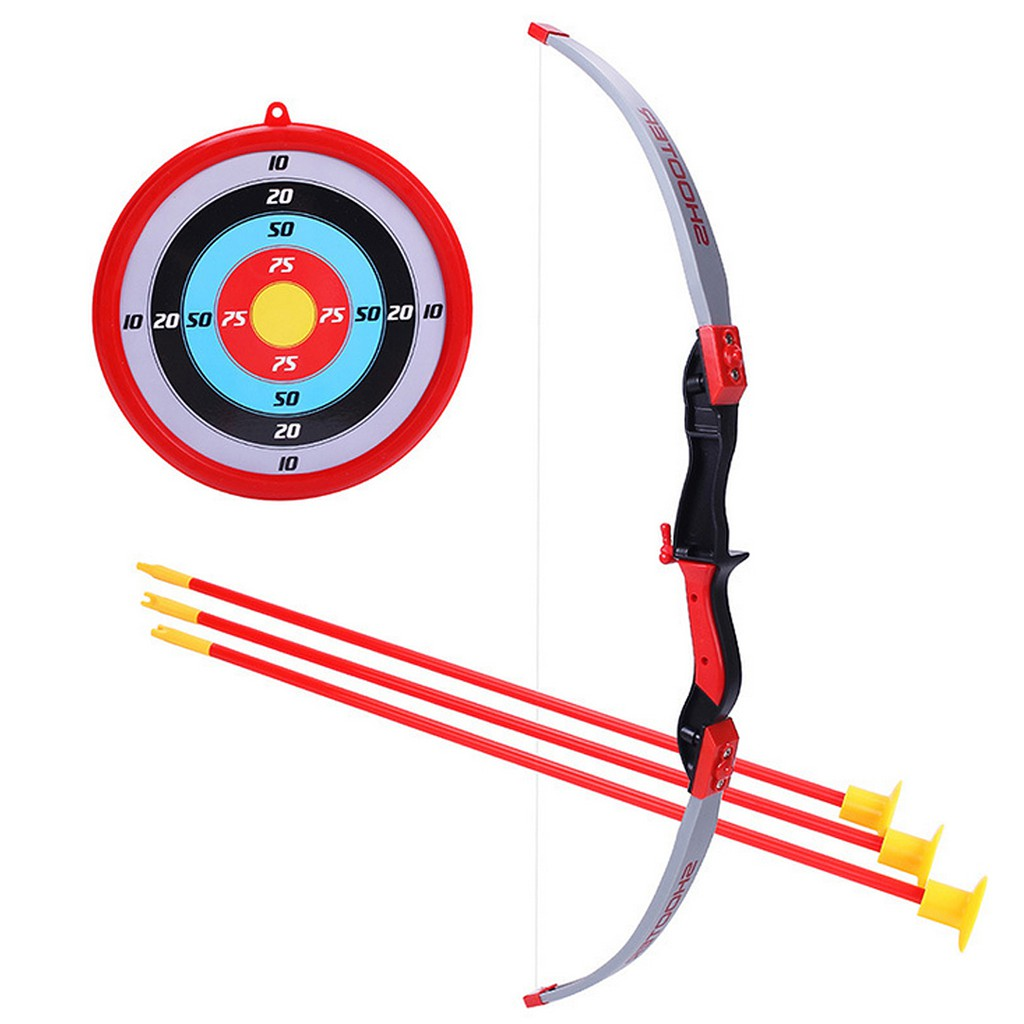 Bow Arrows Shooting Sports Toy Kids Shooting Game Toy – English Type-2