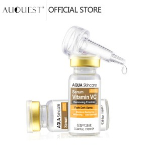 AUQUEST Face Serum Vitamin C Whitening Anti Aging Anti Wrinkle Essence Skincare (10ml) thumbnail