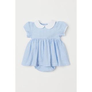 Váy cotton HM UK cho bé gái 2-4m