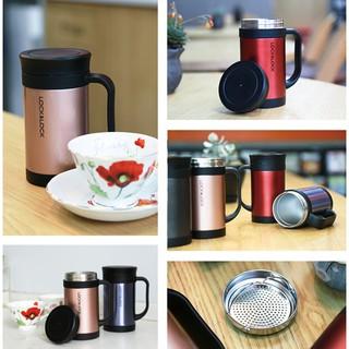 Bình giữ nhiệt Lock&Lock Classic Tea - Bình giữ nhiệt kiêm dụng cụ pha trà Lock&Lock