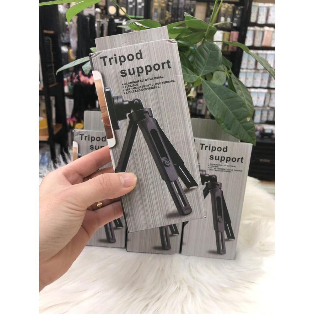 Combo Gậy Tripod Support+ Đèn Led livestream
