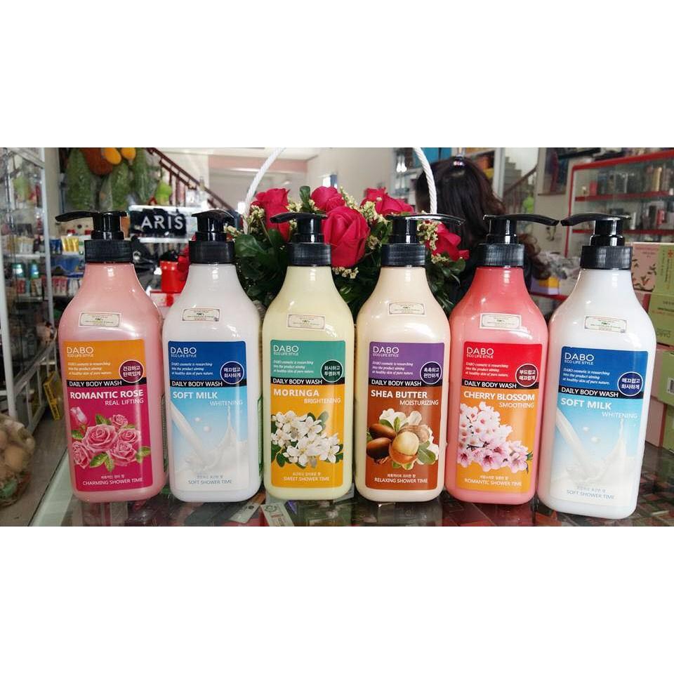 [Sữa tắm trắng Hàn Quốc] Sữa tắm trắng da Dabo Whitening Soft Milk Cao cấp Hàn Quốc 750ml - Hàng Chí - 2901880 , 166569993 , 322_166569993 , 320000 , Sua-tam-trang-Han-Quoc-Sua-tam-trang-da-Dabo-Whitening-Soft-Milk-Cao-cap-Han-Quoc-750ml-Hang-Chi-322_166569993 , shopee.vn , [Sữa tắm trắng Hàn Quốc] Sữa tắm trắng da Dabo Whitening Soft Milk Cao cấp Hàn