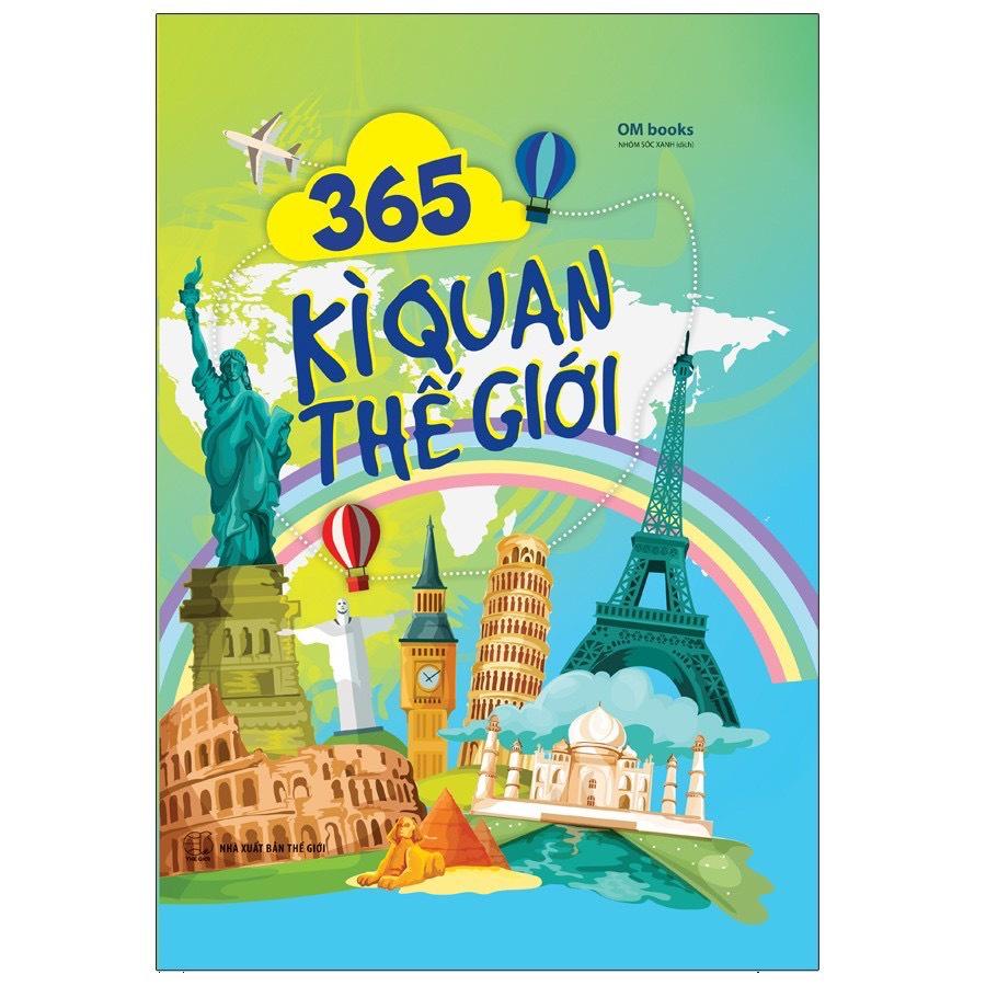 Sách - 365 Kì Quan Thế Giới
