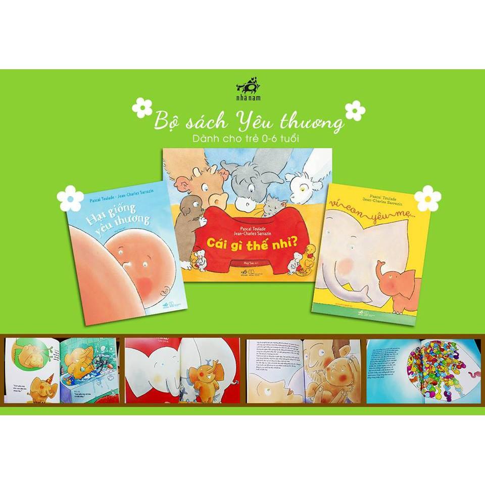Sách BỘ SÁCH YÊU THƯƠNG Nuôi dạy những em bé hạnh phúc