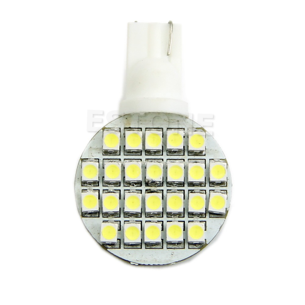 SUPB☀1Pc T10 194 921 W5W Light Lamp 1210 24SMD LED RV Landscaping White Bulb Pure New