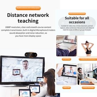 Hình ảnh KCO K9E Webcam Full HD 2K Auto focus with Microphone, For Network Broadcast Online School And Meetings Laptop Desktop YouTube Skype Facebook FaceTime-5