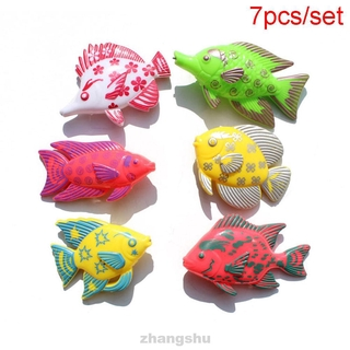 * Magnetic Fishing Toy Pole Rod Model Fish Kit Baby Kids Bath Time