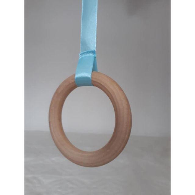 Vòng gỗ mộc 10cm size chuẩn