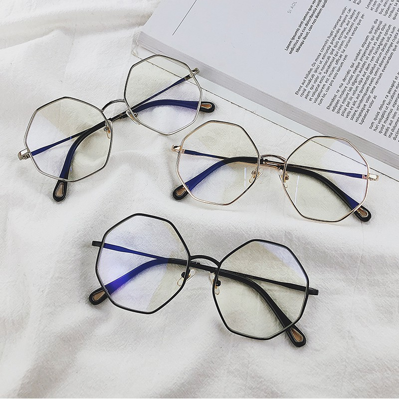 เวอร์ชั่นเกาหลีของกรอบใหญ่ผิดปกติบุคลิกภาพทางเรขาคณิตวรรณกรรมเก๋แว่นตาหญิงใหม่ไม