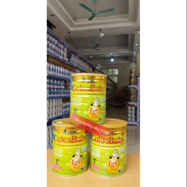 Combo 3 Lon Sữa Bột ColosBaby 1+ 800g date 2021