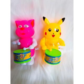 Pikachu đánh trống