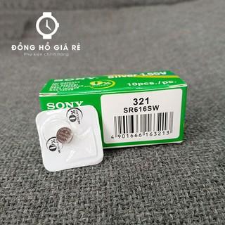 [SALE] Pin Đồng Hồ Sony SR616SW Pin 321 chính hãng thumbnail