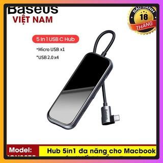 Bộ HUB Chuyển Đổi Đa Năng Cho Macbook Cho Điện Thoại Sử Dụng Cổng Type C