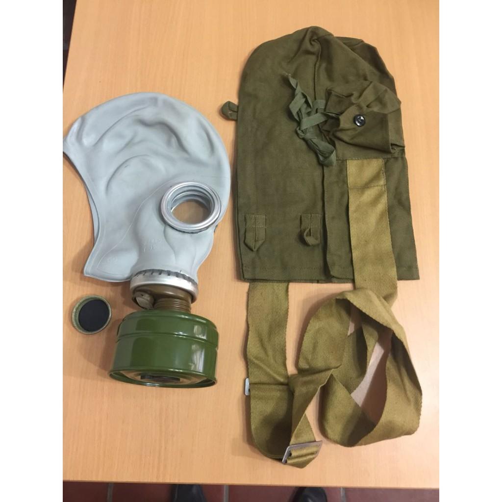 Mặt nạ phòng độc Liên Xô Mặt nạ Liên Xô - LXGD có túi đựng