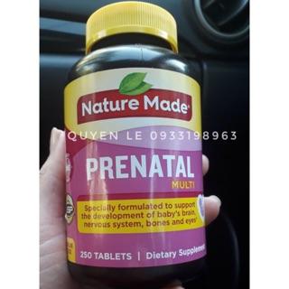 [250 viên] Viên uống Vitamin tổng hợp cho bà bầu Pretanal