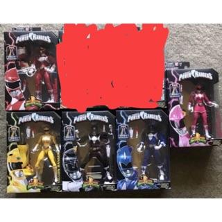 Set 5 anh em siêu nhân Power Rangers Mighty Morphin chính hãng