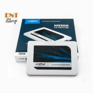 [Mã ELMSHX hoàn 8% xu đơn 500K] Ổ cứng SSD Crucial MX500 3D NAND SATA III 2.5 inch 250GB - BH 5 Năm 1 Đổi 1 thumbnail