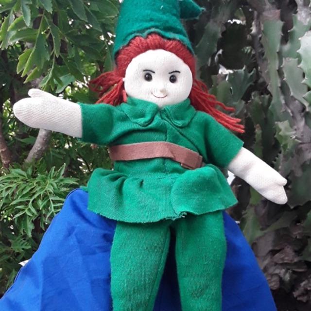 Đồ chơi rối 2 trong 1 kể chuyện Peter Pan