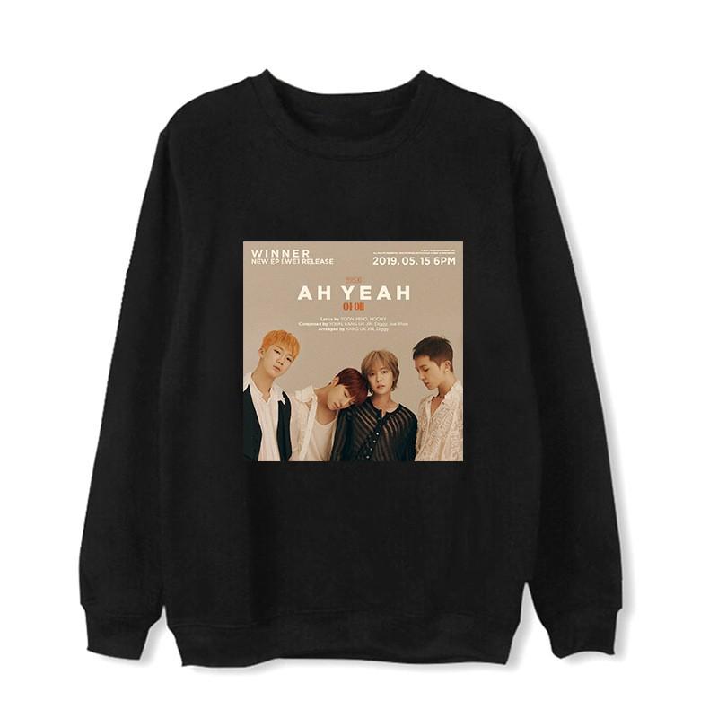 Áo Sweater Cổ Tròn Cho Fan Nhóm Nhạc W