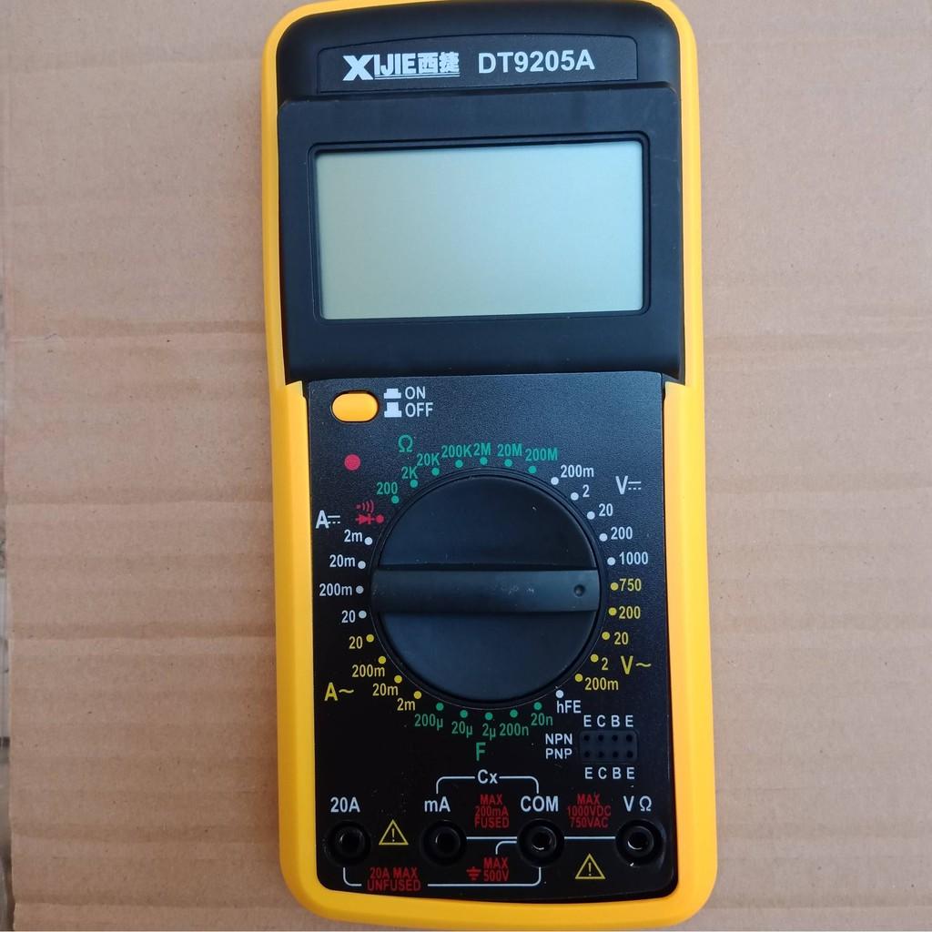 Đồng hồ đo điện vạn năng DT9205A