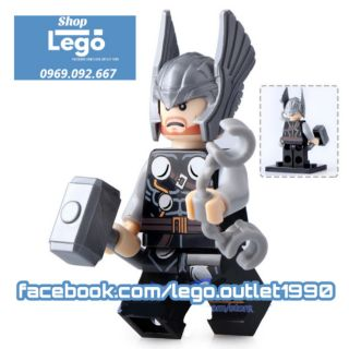 Xếp hình Thor Ranarok Lego Minifigures MG0004 thumbnail