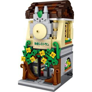 Bộ lắp ráp Nhà hàng Nhật Bản LOZ 1631