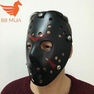 Mặt nạ Jason hóa trang Halloween leegoal Màu Đen Lỗ tròn shop thanh