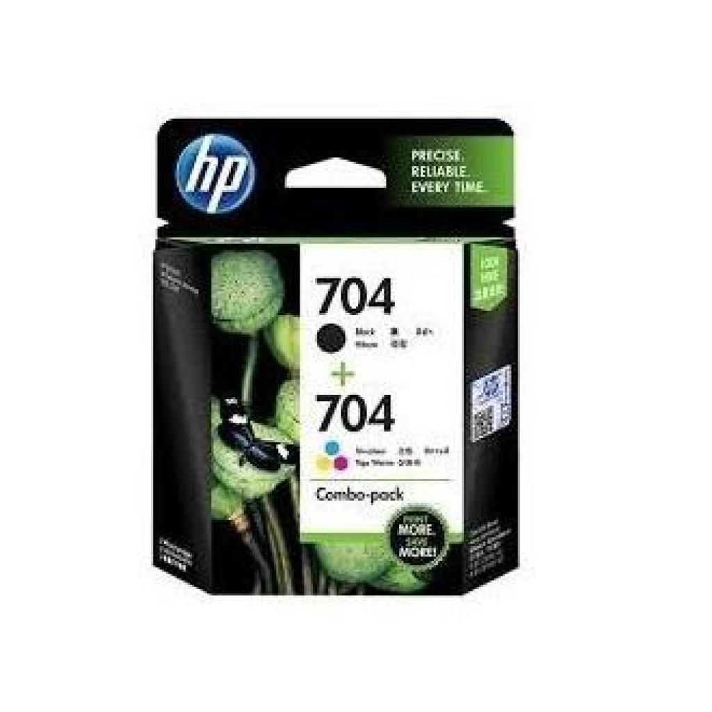 Printer Scanner HP 704 (Black + Color) Combo-Pack ตลับหมึกแท้rinter Scanner HP 704 (Black + Color) Combo-Pack ตลับหมึกแท