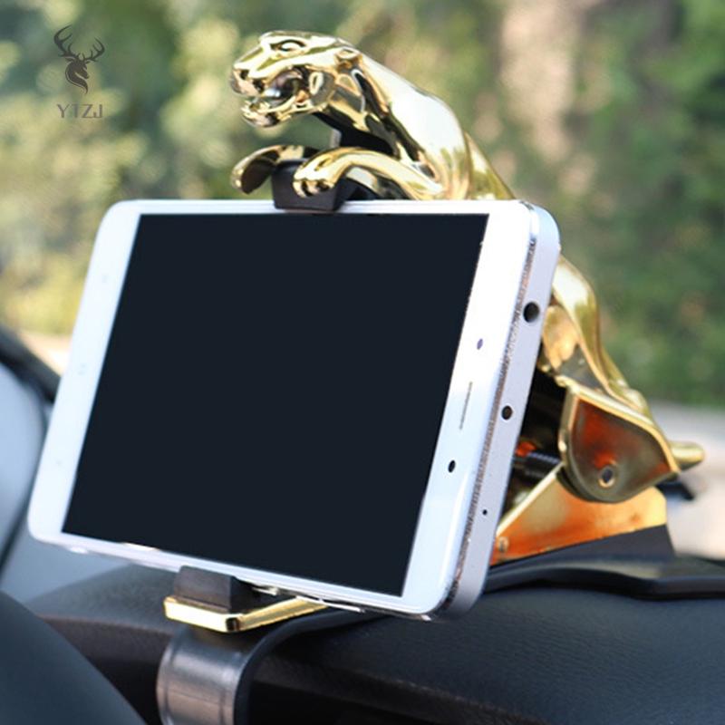 Giá đỡ điện thoại dạng kẹp họa tiết báo trang trí xe hơi