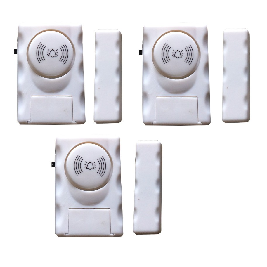 Bộ 3 chuông cửa từ báo động chống trộm ATA AT-007 - 2617862 , 40228443 , 322_40228443 , 150000 , Bo-3-chuong-cua-tu-bao-dong-chong-trom-ATA-AT-007-322_40228443 , shopee.vn , Bộ 3 chuông cửa từ báo động chống trộm ATA AT-007