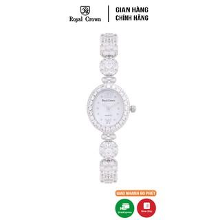 [Mã FABRWAT83 giảm 15% đơn 150k] Đồng hồ nữ chính hãng Royal Crown 1516 Jewelry Watch (B12) thumbnail