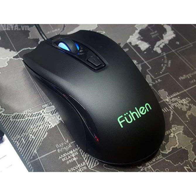 Chuột Fuhlen X102 và lót chuột