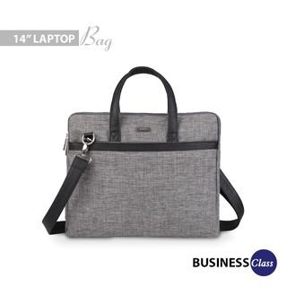 [Mã LT50 giảm 50k đơn 250k] Túi laptop unisex ngăn kéo trước thanh lịch IDIGO MB2-410-00 thumbnail