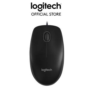 Chuột dây Logitech B100