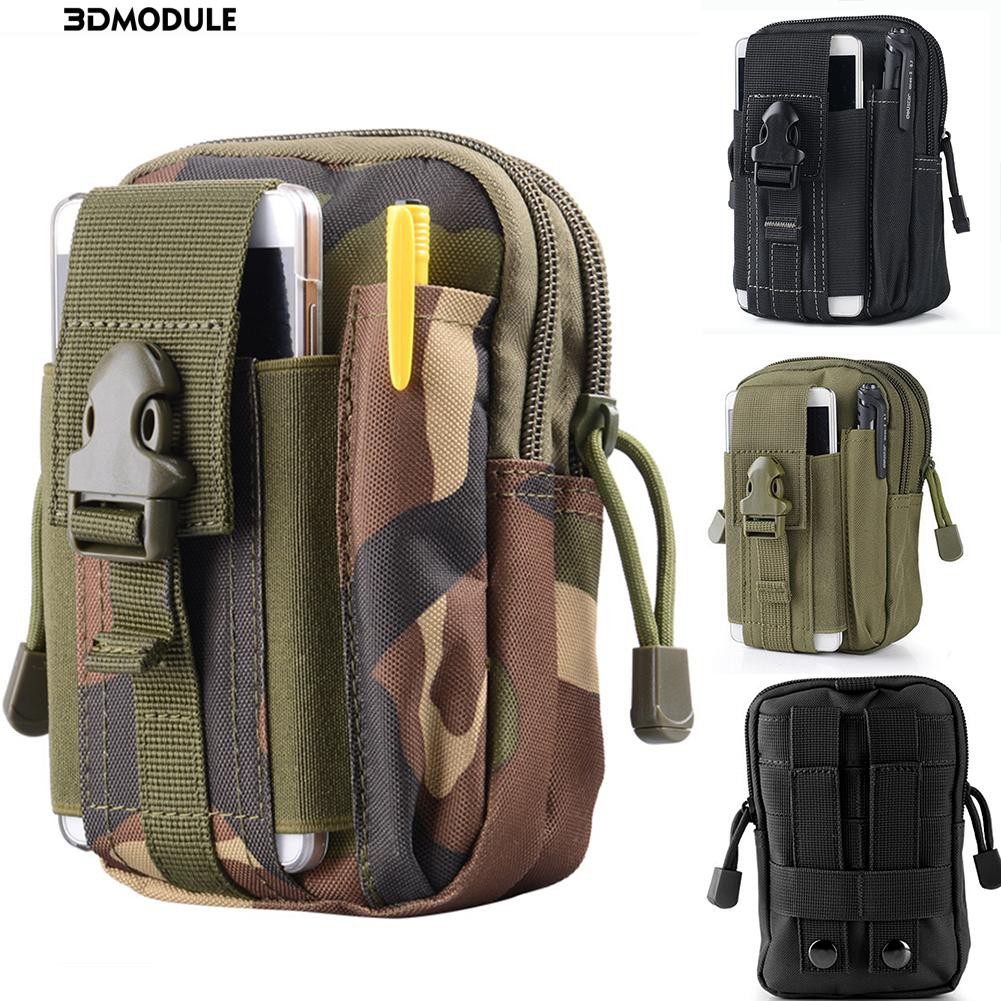3D🍃Multi-purpose camouflage outdoor waterproof men's pockets